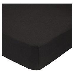 Superking Deep Fitted Sheet - Black