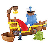 Jake and the Never Land Pirates Splashin Bucky Bath Toy