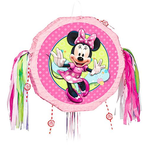 Minnie Mouse Party Minnie Mouse Pull Pinata (each)