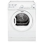 Hotpoint Aquarius TVFS 73B GP Tumble Dryer - White