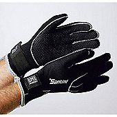 SP593NEO - Santini 365 Neoprene Glove Black Medium