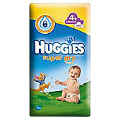 Huggies Super Dry 4 Economy Pack 48 Nappies