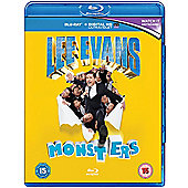 Lee Evans: Monsters Blu-ray