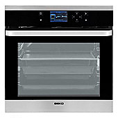 Beko OIM25901X, 594mm, Black Cooker