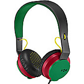 House Of Marley Roar On-ear Headphones (Rasta)