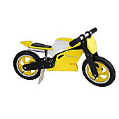 Kiddimoto Superbike (Yellow/Black/White)