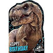 Jurassic World Character Birthday Card