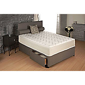 Vogue Beds Memory Touch Pocket Oasis 1000 Platform Divan Bed - Small Double / Without Drawer