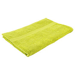 Tesco Basic Bath Sheet, Lime