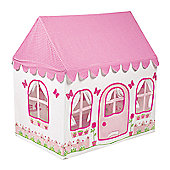 Kiddiewinkles 2-in-1 Rose Cottage & Tea Shop Playhouse Tent, Small