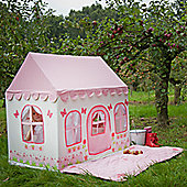 Kiddiewinkles 2 In 1 Rose Cottage and Tea Shop Playhouse - Small