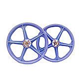 """Skyway Tuff II Lavender 20"""" BMX Wheelset"""