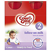 Cow & Gate Follow on Milk 4 x 200ml