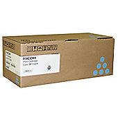 Ricoh SP222 Cyan Toner Cartridge (Yield 2,000 Pages)