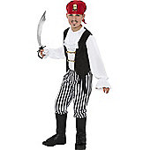 Child Pirate Costume Medium