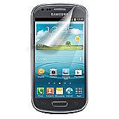 Tortoise™ Look Samsung Galaxy SIII Mini Screen Protector Twin Pack.