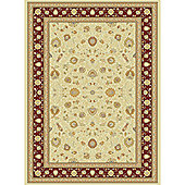 Mastercraft Rugs Noble Art Ivory Red Rug - 135cm x 200cm