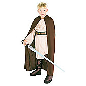 Rubies UK Basic Hooded Jedi Robe- L