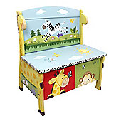 Fantasy Fields Sunny Safari Storage Bench