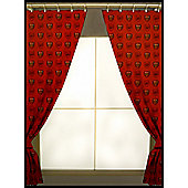 Arsenal Fc Football Repeat Crest 72 inch Curtains