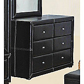 Heartlands Furniture Odessa Dresser - Brown