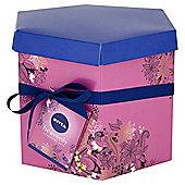 Nivea Woman - Heavenly Beautiful Skin - Hat Gift Box - Exclusive to Tesco