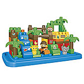 Megabloks Large Bloktown Tub Safari