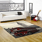 Retro Funky Big Smoke Multi 120x160 cm Rug
