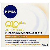 Nivea Q10 Plus Anti-Wrinkle Energising Day Cream SPF 15 50ml