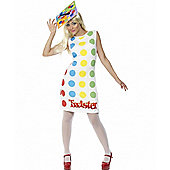 Twister Woman - Adult Costume Size: 12-14