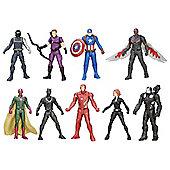 Marvel Avengers Captain America 2.5Inch Universe Pack