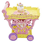 Disney Princess Belle Musical Tea Part Cart Playset