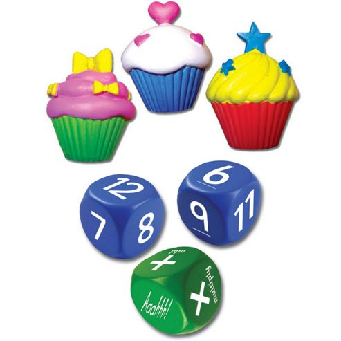 Plastic Christmas Cake Decorations Tesco : Buy ZooBooKoo Cup Cake Dice Level 2 Maths Game from our ...