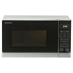 Sharp Solo Microwave R372SLM 25L, Silver
