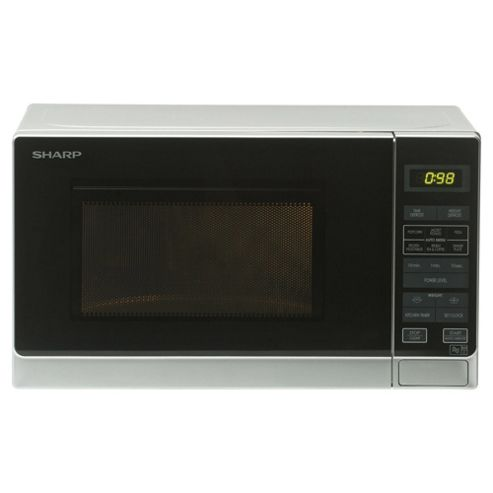 Sharp R372SLM Silver Family size Solo Microwave