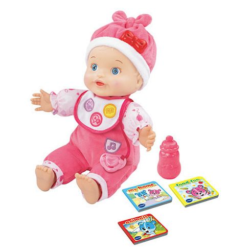buy vtech grow with me baby doll from our toddler activity. Black Bedroom Furniture Sets. Home Design Ideas