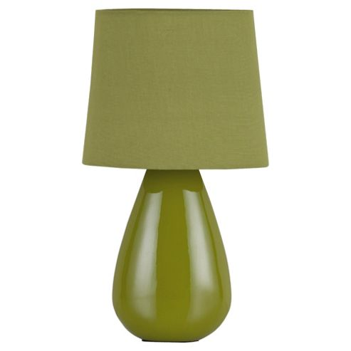 Tesco Lighting Chloe Ceramic Table Lamp Olive