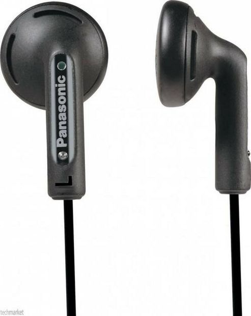 Panasonic RP-HV094E-K Black In-Earphones with Neodymium