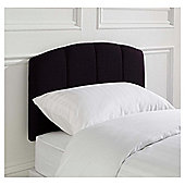 Seetall Padstow Headboard Linen Effect Aubergine Single