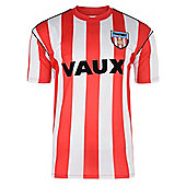 Sunderland 1990 Home Shirt Red & White S