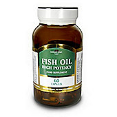Natures Own Fish Oil: Omega 3 - 1000mg Fish oil / 550mg EPA/ DHA 60 Capsules