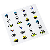 T. Go Create Eye Stickers