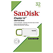 SanDisk Cruzer U USB 2.0 Flash Drive 32GB - White