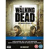 The Walking Dead 1-5 Blu-Ray