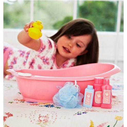 Cup Cake Baby Bath Set