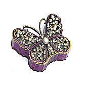 Home Essence Butterfly Trinket Box
