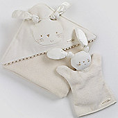 Natures Purest Pure Love Bathtime Cuddle Robe & Mitt