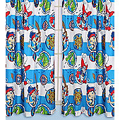 Jake and the Neverland Pirates Curtains 72s - Doubloons - Multi