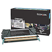 Lexmark C746H1KG High Yield Toner Cartridge - Black