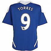 2011-12 Chelsea Home Football Shirt (Torres 9) - Blue